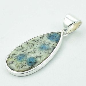 Jasper gemstone 925 sterling silver pendant jewelry wholesale handmade gemstone silver jewelry