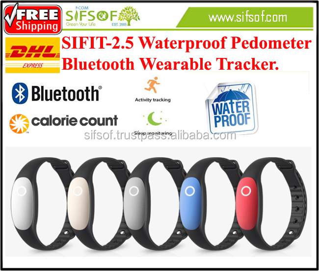 SIFIT-2.5 Smart Bracelet Pedometer, 2015 Fashion Pedometer With Good Tools to your Healthy Sports Exercises