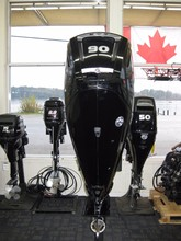 Used Mercury 90 HP Outboard Motor Engine