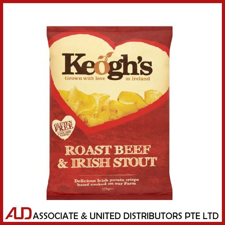 Keogh's Roast Beef & Irish Stout 125g