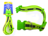 REFLECTIVE DOG COLLAR GREEN CLR, #19243