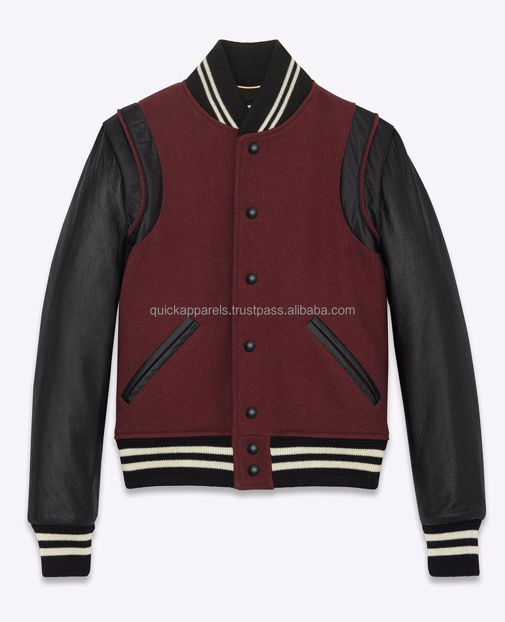 Amazon high quality woman windbreaker custom varsity jacket