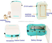 siemens vita 118 Easy carry body worn hearing aid and pocket hearing aid battery