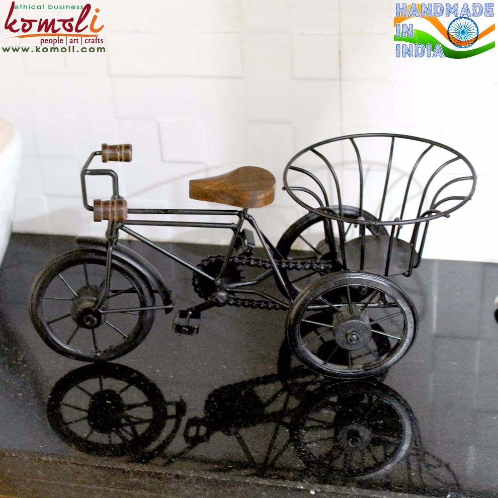 Decorative bicycles in wrought iron home decor miniature - Wrought iron bicycle wall art ...