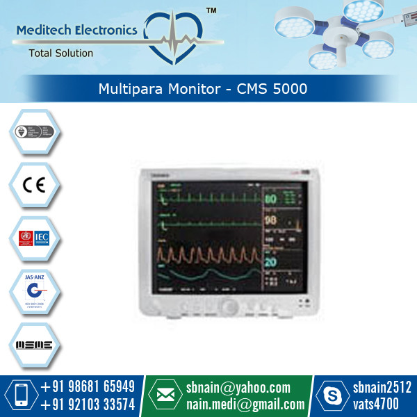 Latest Technology Patient Monitor with Longer Service Life at Genuine Price