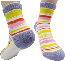 Roberto Cotton Quarter Sport Socks Women Small US Shoe 6~8 Cushion Bottom by Leevo