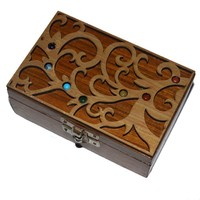 Wooden Chakra Boxes : Manufacturer of Packaging Boxes