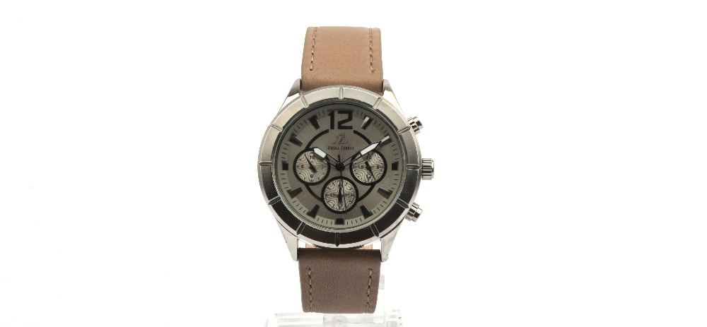 IRMAL DIMIH-GENUINE LEATHER-BROWN-SILVER-SILVER-M-ID010569