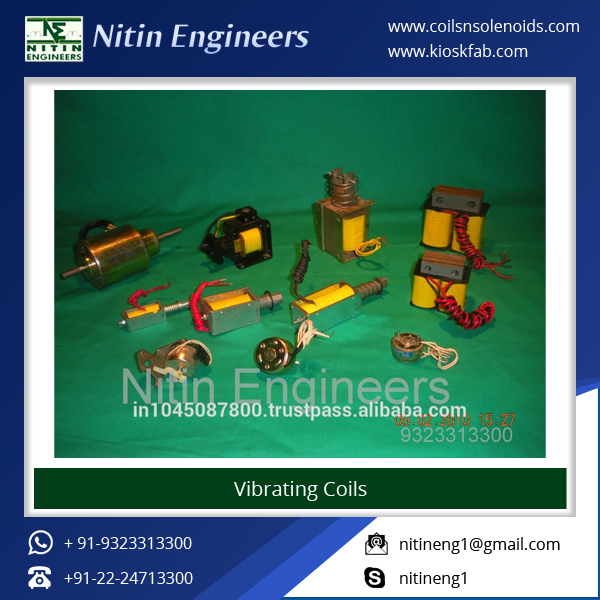 Easy to Install Solenoids and Vibrator Coils for Mechanical Industry