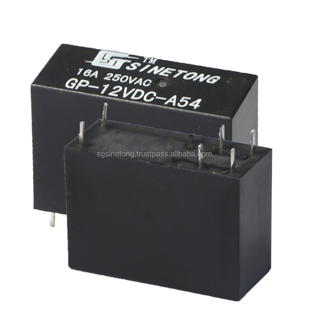 12V 16A 6pins Electronic Components Relay with best service