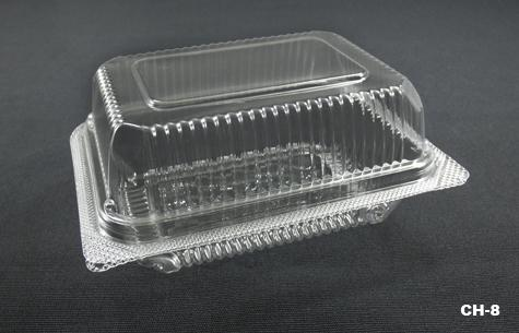 PLASTIC BOX CH-8 SINGLE SUSHI BOX