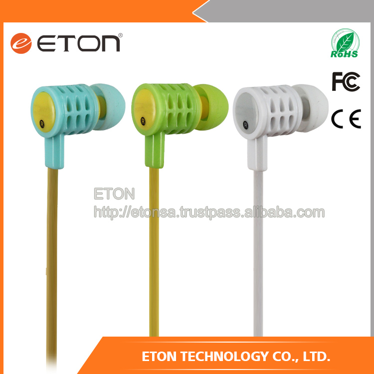 wholesale sweatproof Stereo waterproof earphone for mobile phone