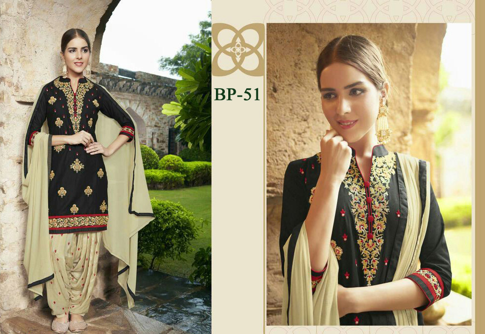 INDIAN LADIES PATIALA SUIT