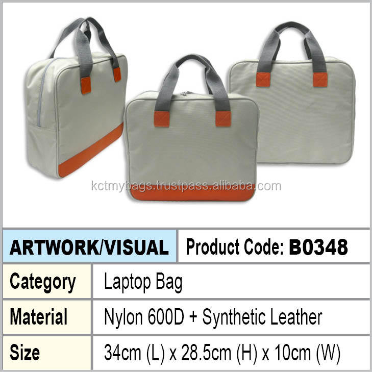 PU + Nylon Document Laptop bag