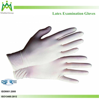 top disposable latex gloves malaysia factory supplying medical examination gloves