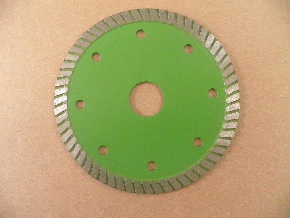 Ultra-thin-1.2mm thickness Turbo Diamond cutting saw Blade for cutting granite | marble | ceramic tile