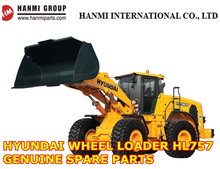 GENUINE HYUNDAI SPARE PARTS FOR WHEEL LOADER HL757 (ENGINE PARTS, MAIN PUMP, BUCKET, CUTTER etc)