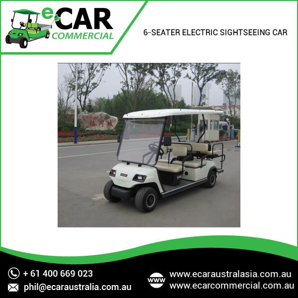ECAR - Cheap 8 Seater Electric Golf Buggy Price LT-A8