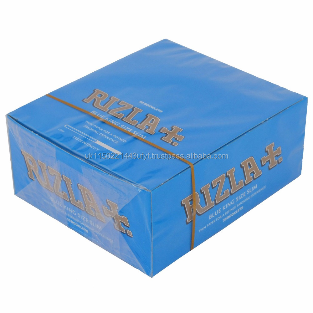 King Size Rizlas Cigarette Rolling Papers regular size, RED,BLUE,SILVER,GREEN