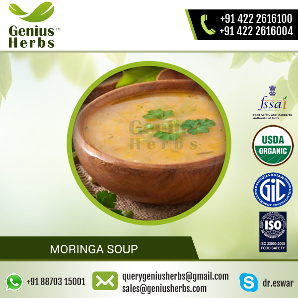 Premium Quality Thick Liquid Type Moringa Soup At Your Door Step from Manufacturer
