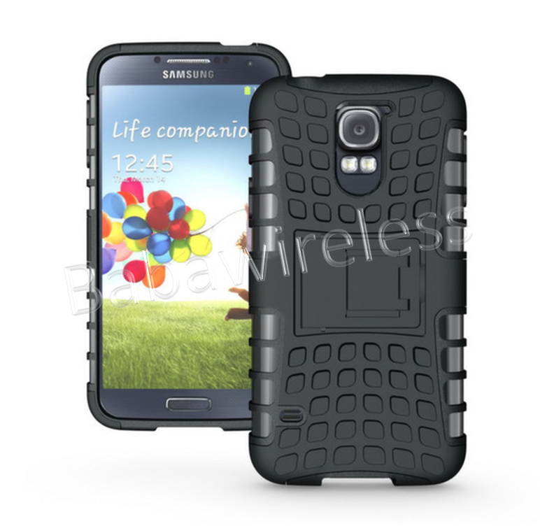 Hybrid Armor Protective Case with 3 In 1 Holster Combo Case For Galaxy S5