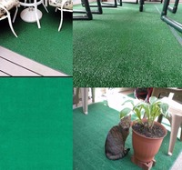 Artificial Grass Carpet Indoor Outdoor Green Synthetic Turf Area Rug 8'x12' Home