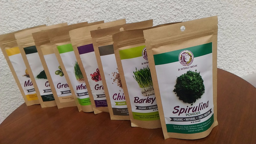 spirulina powder for white labeling and drop shipping