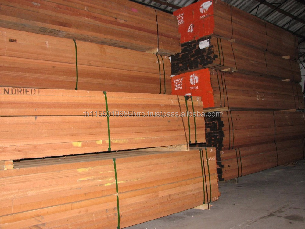PEFC Select&better Meranti - Dark Red Sawn Timber