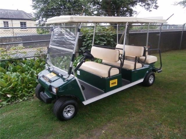 Used Club Car - VILLAGER6P VILLAGER 6 PETROL