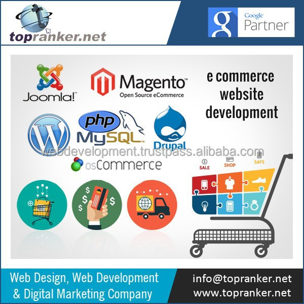 Ecommerce Web Design and Web Development Services at Affordable Rates