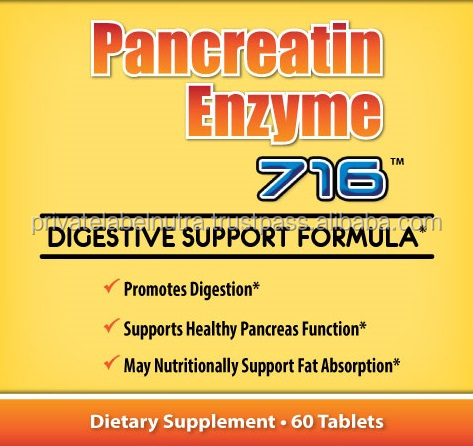 Pancreatic Enzyme - Tablets - Digestive Enzymes Supplements - Buy ...