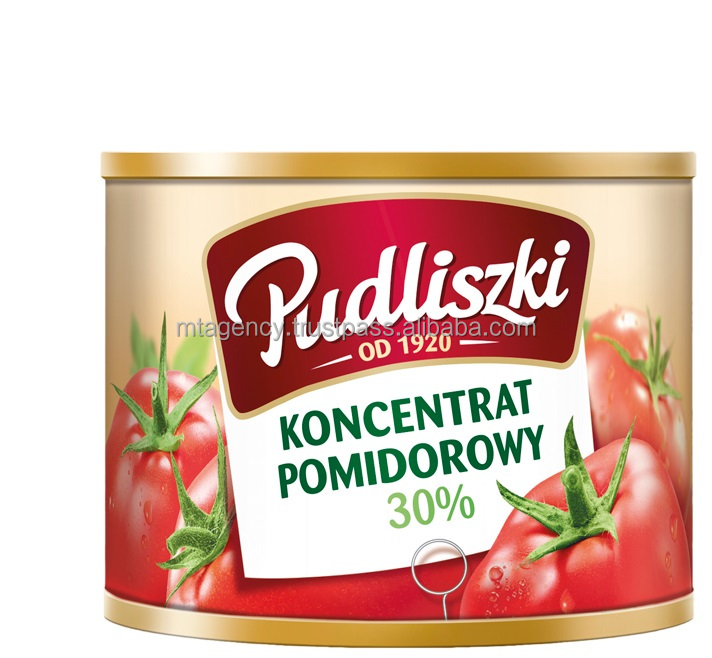 TOMATO CONCENTRATE PASTE in can, canned, tin 70g NATURAL