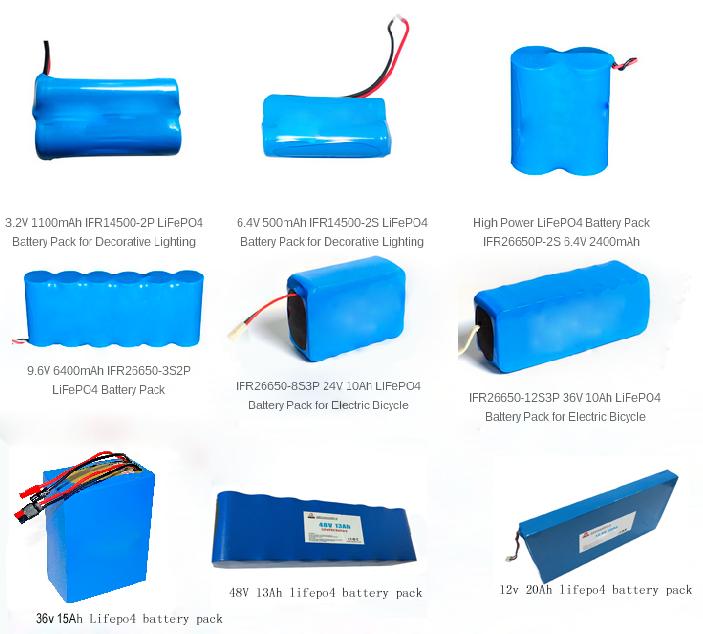 Sample freely Lifepo4 li-ion battery IFR26650 Rechargeable Battery
