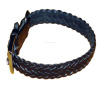 Hand Braided Leather dog collar