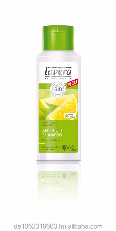Lavera, anti-grease Shampoo - Organic Lemon & Organic Mint, 200ml
