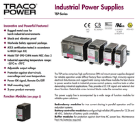 TRACO POWER TSP Series Power Supply