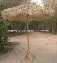 SEAGRASS UMBRELLA, THATCH UMBRELLA, PALM LEAF UMBRELLA AND BAMBOO PRODUCT_ CHEAPEST PRICE 2016 (info@gianguyencraft.com)