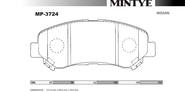 MINTYE Original Disc Brake Pads