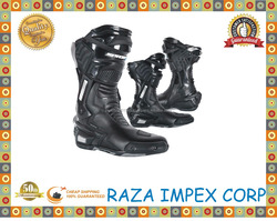Riding boots spiked genuine leather riding boots mens leather motorcycle boots