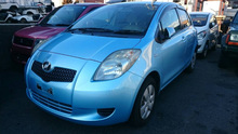 RIGHT HAND DRIVE RHD USED CARS JAPAN 2010 TOYOTA VITZ YARIS