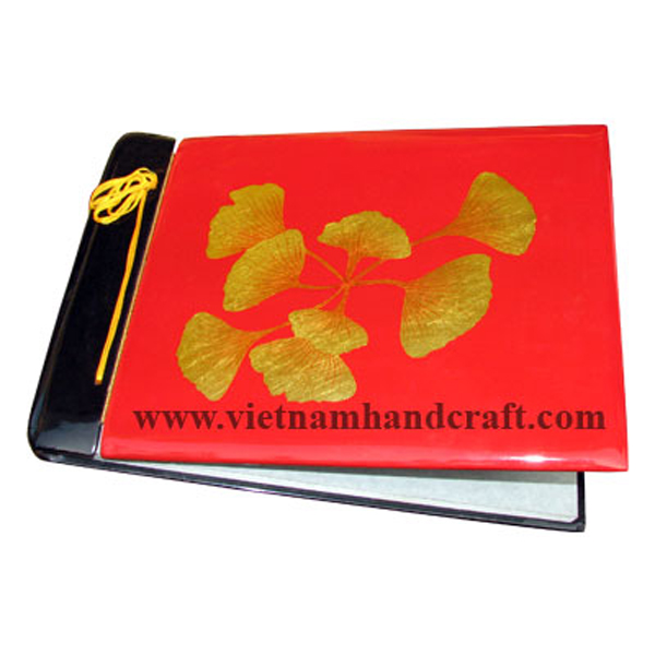 vietnam lacquered wooden family photo albums