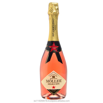 Moller rose wine semi-dry sparkling wine 6x75cl