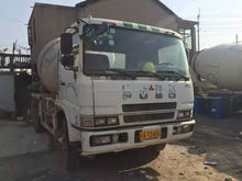 Secondhand China Fuso mixer truck for sale