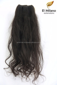 Most Famous Hot Selling Price 100% Human Virgin Remy Hair From El-Milano Extensions