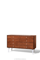 GRENZ 6 DRAWER DRESSING TABLE-OAK