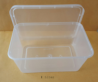 PP Plastic Disposable Food Grade Food Container