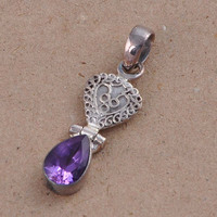 Handmade 925 Sterling silver Alexandrite Wholesale jewelry fashion jewelry Supplier