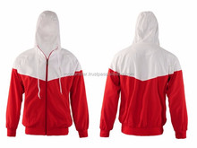 Red and White Hoodie / Sweatshirt Manufacturer Make Your Own Designed From Pakistan