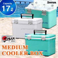 Watermelon box 17L(18Qt) keep cool chill ice warm Japan made outdoor fishing BBQ camp HOLIDAY LAND COOLER CBX 17L W
