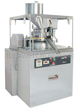 CAMPHOR TABLET MAKING MACHINE - FALCON TABLET PRESS cGMP MODEL